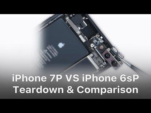 iPhone 7 Plus VS iPhone 6s Plus Teardown and Spare Parts Comparison