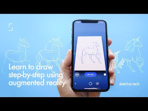 Sketchar How To Draw With Augmented Reality Apps On Google Play