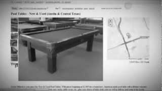 Used Pool Table Austin | Used Pool Tables At Austin Billiards