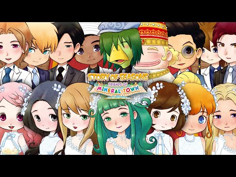 All Candidate Marriage Event Story of Seasons Friends of Mineral Town