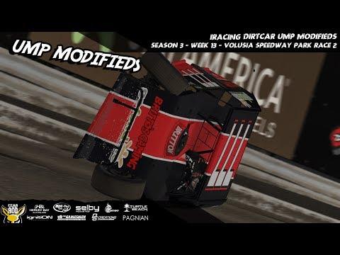 iRacing - UMP Modifieds Week 13 - Volusia Speedway Park Race 2