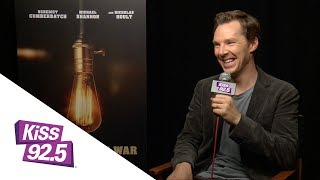 Damnit Maurie Tells Lightbulb Jokes to Benedict Cumberbatch at TIFF