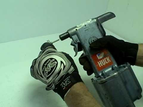 Huck 352 Rivet Gun Riveter Youtube