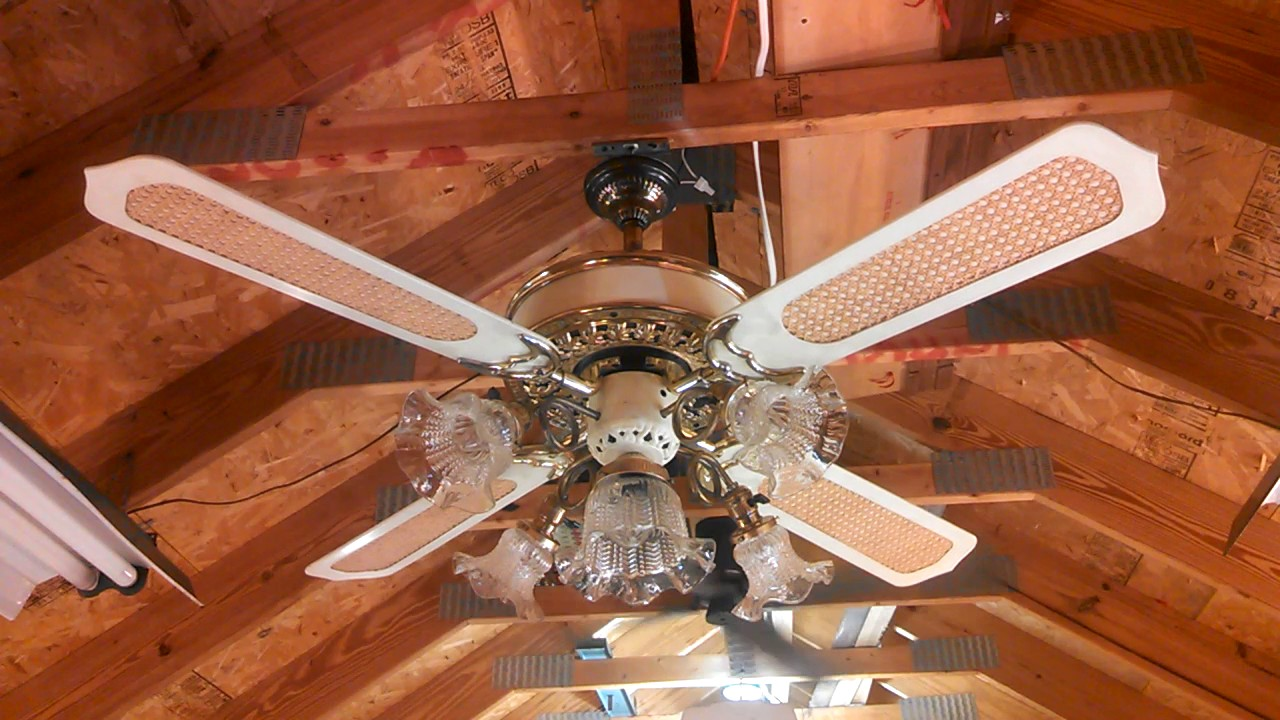 Casablanca Quot Victorian Quot Ceiling Fan With K63 Motor Youtube