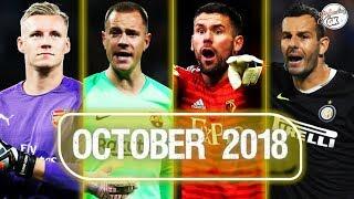 Best goalkeeper saves - October 2018 HD