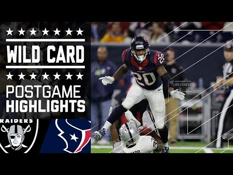 Raiders vs. Texans | NFL Wild Card Game Highlights