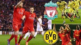 Ливерпуль - Боруссия Дортмунд, 4:3, 1/4 финала Лиги Европы, матч который войдет в историю!