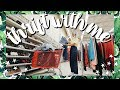 Come Thrift With Me | How to Thrift Mom Jeans + BIG Denim Thrift Store Try On Haul