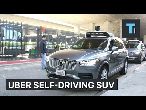 Here's what it's like riding in Uber's new self-driving SUV