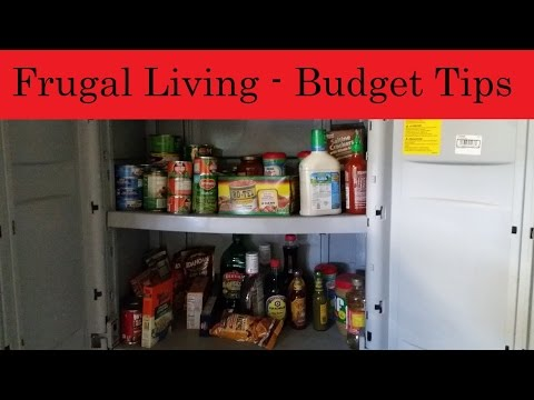 Frugal Living  - Tips to lower your budget