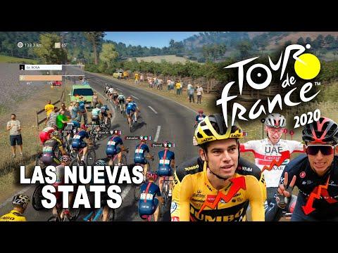 TOUR DE FRANCE 2020 Las nuevas stats VR_JUEGOS