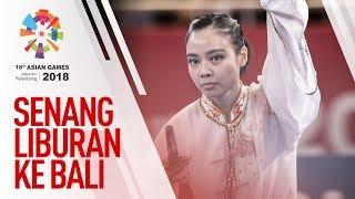 ASIAN GAMES 2018 - TEMPAT LIBURAN FAVORIT LINDSWELL KWOK
