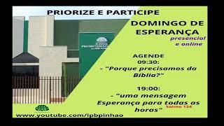 CULTO DE DOMINGO 07/03/2021