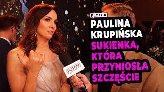 Paulina Krupińska w sukience, w której wygrała konkurs w 2012 roku