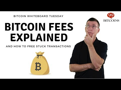 Bitcoin Fees - How to calculate and free stuck transactions