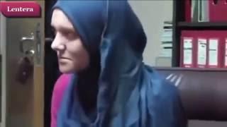 Masuk Islam, Wanita Bule Ini Menangis Saat Baca Syahadat