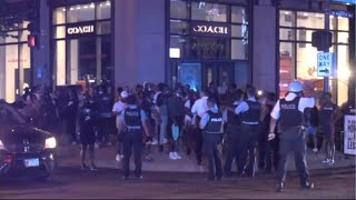 Shooting And Looting In Chicago