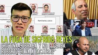 La fuga de SIGFRIDO REYES  Cristina López ladrona  Roberto Silva deportado  - SOY JOSE YOUTUBER