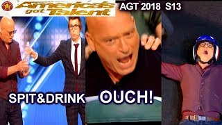AGT Contestants Love Howie Mandel to do Crazy Tricks With | America's Got Talent 2018 Auditions