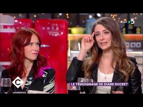 Le témoignage de Diane Ducret - C à Vous - 28/02/2018
