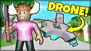 DRONE TIL 700 ROBUX! - Dansk Roblox: Wood Cutting Simulator #1