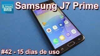 Samsung Galaxy J7 Prime - 15 dias de uso
