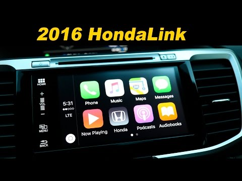 2016 Honda Accord Infotainment Review - With Android Auto and Car Play