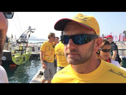 "Mr. Clean's Notebook - In-Port Race ""Dock Walk"" in Abu Dhabi"
