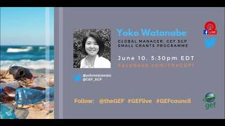 Yoko Watanabe on #GEFlive 56th GEF Council