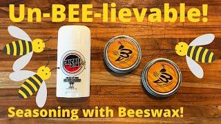 Crisbee Stik vs. BuzzyWaxx: Best Beeswax for Seasoning Cast Iron?