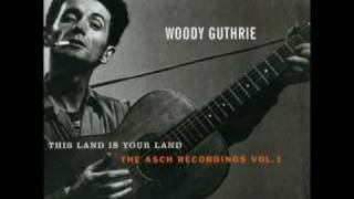 Watch Woody Guthrie Talking Hard Work video