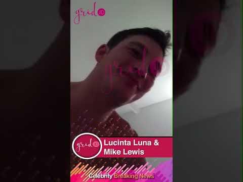 Kemesraan Lucinta Luna dan Mike Lewis