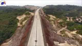 Proyek Jalan Tol Trans Sumatera Lampung Bakauheni - Sidomulyo bulan Juni 2017