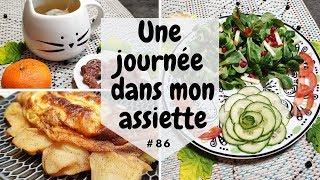 🍎 Une journée dans mon assiette 🍎 #86 - UJDMA