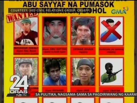 24 Oras: Mga Abu Sayyaf na nakatakas mula sa Inabanga, tinutugis kasabay ng ASEAN Summit sa Panglao