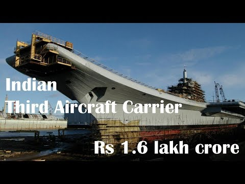Indian Navy plans to acquire its third aircraft carrier for whopping Rs 1.6 lakh crores