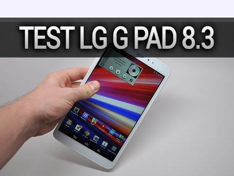 Test LG G Pad 8.3 - par Test-Mobile.fr