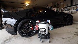 How I Wash My Corvette Z06 E1 | Kranzle Power Washer | CR Spotless