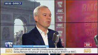 François de Rugy était face à Jean-Jacques Bouridn sur RMC et BFMTV
