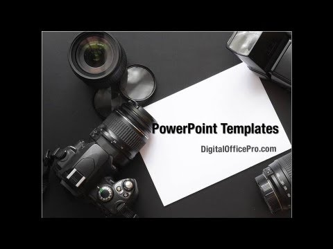Digital photo camera powerpoint template backgrounds youtube premium toneelgroepblik Image collections