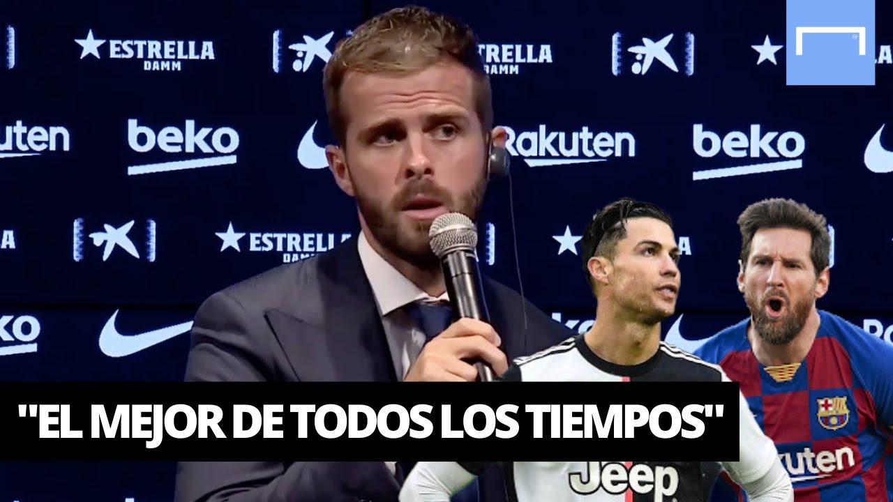 ¿Messi o CR7? Pjanić reveló quién es el mejor de todos los tiempos