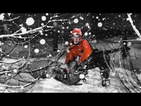Tracking A Deer In A Blizzard!-Adventure Stories Episode 2