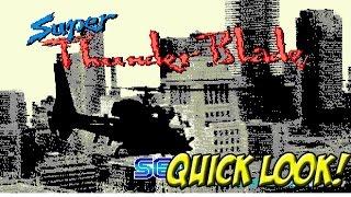 Super Thunder Blade! Quick Look - YoVideogames