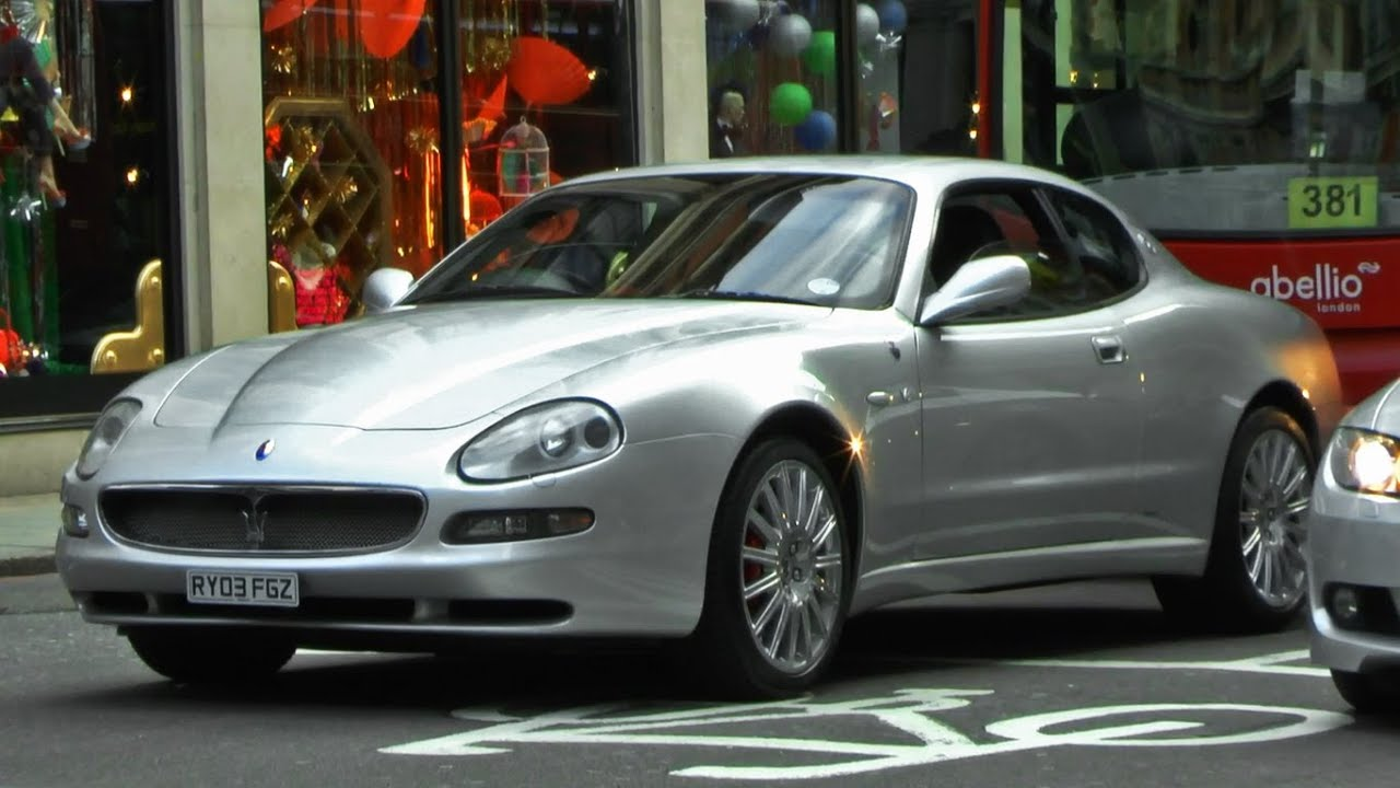 Maserati Coupe sounds in London