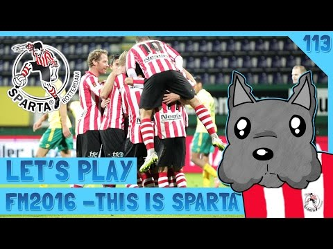 FM 16 - This is Sparta | CRUNCH TIME | EP 113 | ScottDogGaming | Football Manager 2016