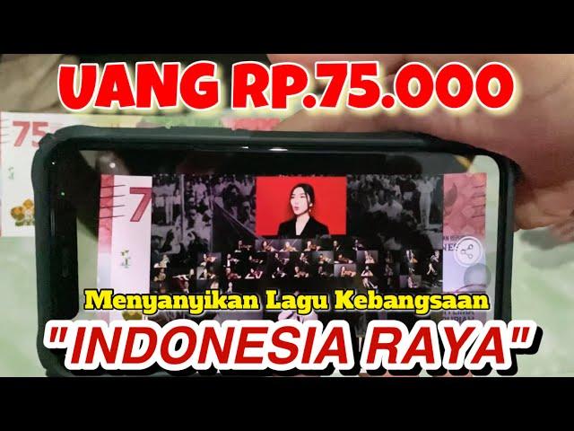 ADA RAHASIA BESAR DI UANG RP.75.000 YANG BIKIN KAMU BANGGA JADI INDONESIA