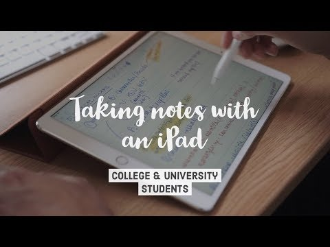 How I take notes on my iPad Pro in medical school (2018) - Cambridge University medical student
