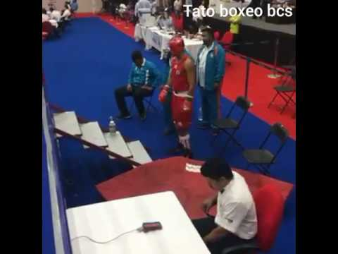 Emilio Valle Campeón Nacional 2017 de boxeo BCS vs Osvaldo Glz de Jalisco la final