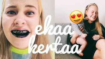 EKAAKERTAA:Vauva sylissä & hampaiden valkaisu