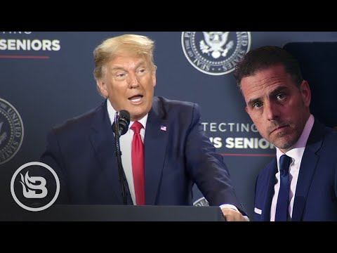 Trump Gives SAVAGE Roast of Hunter Biden After News Breaks of His Corruption